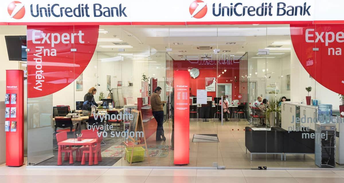 unicredit bank znižuje úrokové sadzby hypoték