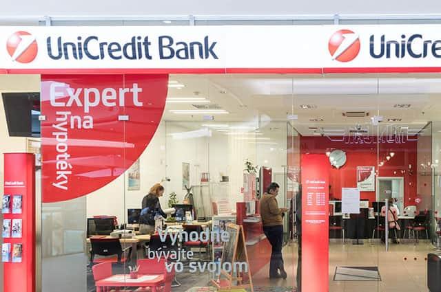 Unicredit Bank zvyšuje úrokové sadzby